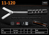 Инерционный съемник тормозных колодок, рабочий диапазон 50 - 89 мм.,  NEO 11-120