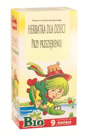 Био чай для детей от 9 мес. от простуды Apotheke - 20п.