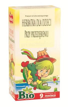Био чай для детей от 9 мес. от простуды Apotheke - 20п. , фото 2