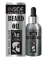 Масло для бороды с феромонами Inside Beard Oil Silver