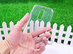 Ультратонкий 1мм силиконовый чехол для Meizu 15