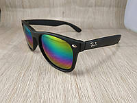 Солнцезащитные очки Ray Ban Wayfarer - зеркальные - цвет радуга