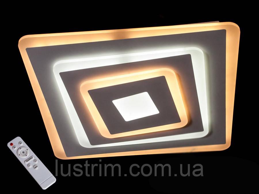 Потолочная светодиодная люстра с диммером 105W