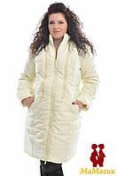 Пальто зимнее для беременных (батал)