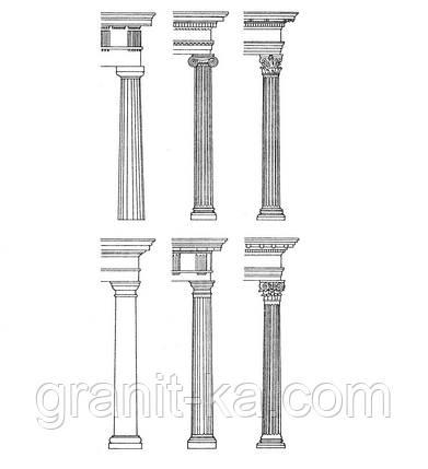 Колонны из гранита, фото 2