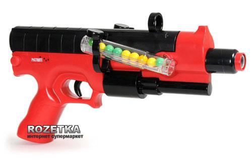 Набор для пейнтбола Sport Tech - Patriot  (пистолет, мишень, очки )