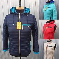 Куртка трансформер женская демисезонная осенняя. Размеры от 42 до 70