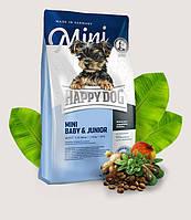 Happy Dog Mini Baby & Junior 4кг- корм для щенков малых пород, 3413
