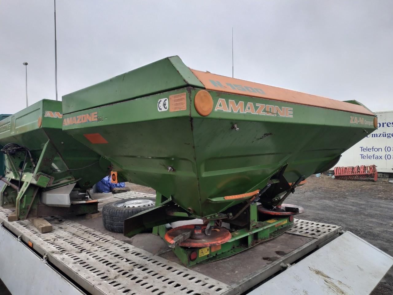 Разбрасыватель(Розкидач) миндобрыв AMAZONE ZA-M-COMPACT 1000-1500 кг.