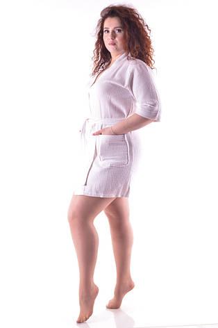 Женский вафельный халатик , фото 2