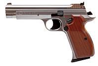 Пистолет Пневматический Sas P 210 Silver Blowback! корпус - Металл (P210Bbs)