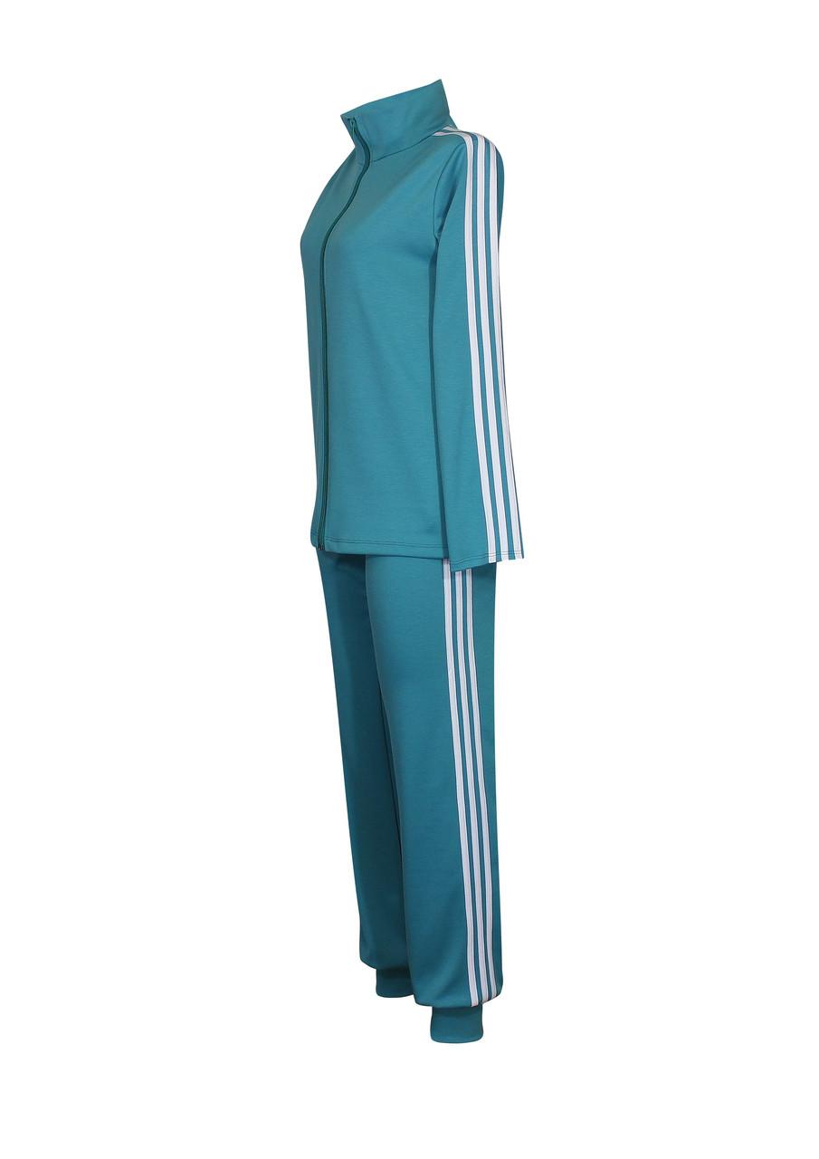 Трикотажный спортивный костюм с брюками
