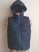 Демисезонная детская стеганная жилетка от 0-3 лет, фото 1