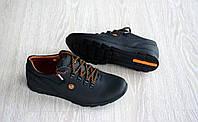 Мужские кожаные кроссовки , фото 1