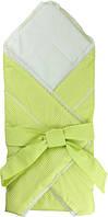 Конверт-одеяло Руно салатовый 75*75см детский арт.957СУ_салатовий
