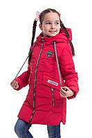 Куртка для девочки на весну интернет магазин 34-42 красный c1074b9322b82