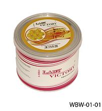 Цукровий віск для епіляції, 500 г. мед, Lady Victory LDV WBW-01-01 /5-2