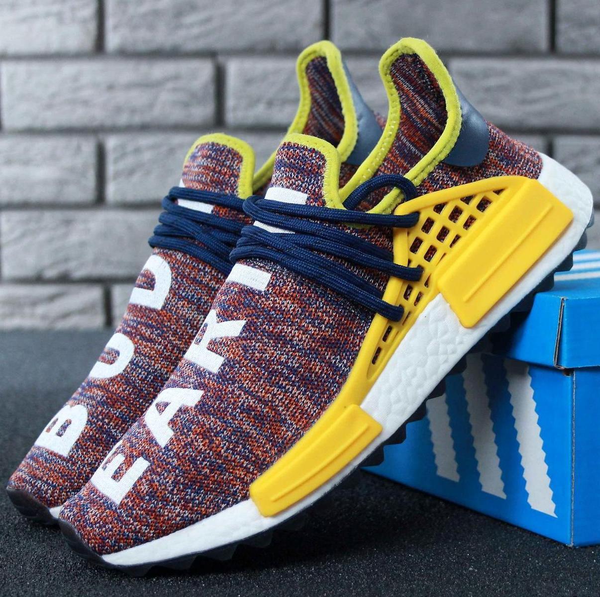 Мужские кроссовки Adidas NMD Human Race x Pharrell Williams