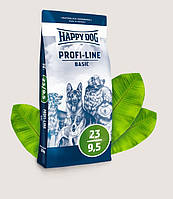 HAPPY DOG Profi-Line Basic 23/9,5 Хэппи Дог сухой корм для взрослых собак 20 кг, 3129