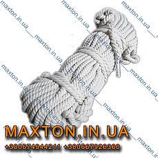 Канат веревка крученаяхлопчатобумажная диаметром6 мм 50 м