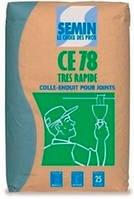 Шпаклёвка для заделки швов ЛГК Semin CE-78 TRES RAPIDE, 25 кг, в Днепре