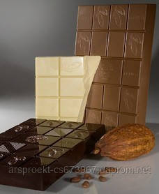 Белый шоколад в чипсах (29% какао)