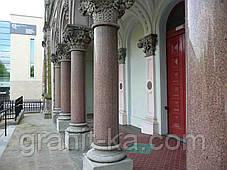 Установка колонн из гранита, фото 3