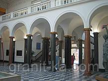 Установка колонн из гранита, фото 2