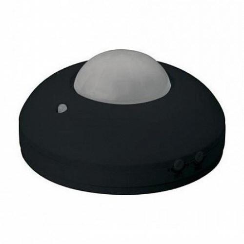 HOROZ Focus HL480 датчик включения света черный потолочный накладной