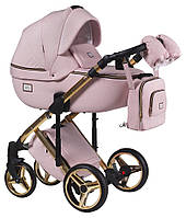 Детская универсальная коляска 2 в 1 Adamex Luciano Polar Gold Y813