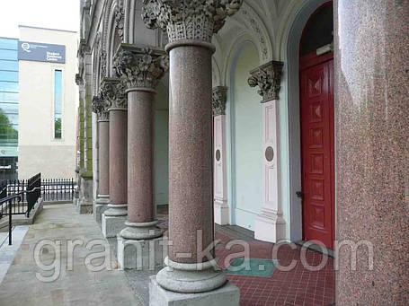 Круглые колонны из гранита, фото 2
