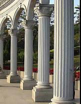 Круглые колонны из гранита, фото 3