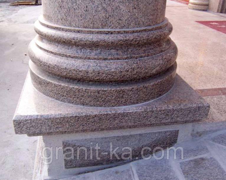 Элементы колонны из гранита