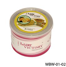 Цукровий віск для епіляції, 500 р. Лимон, Lady Victory LDV WBW-01-02 /5-2