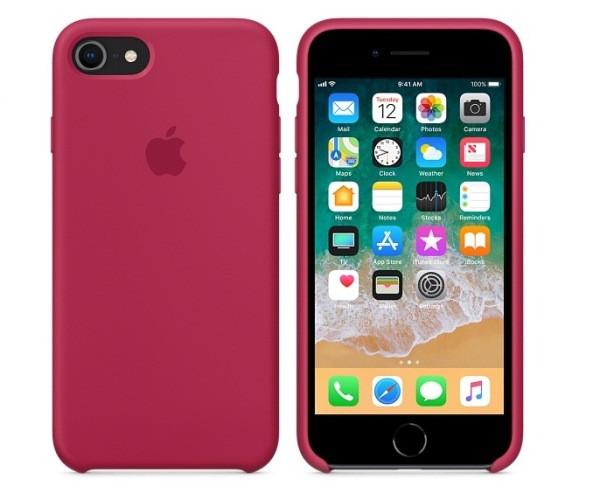 Чехол силиконовый Apple Silicone Case для iPhone 7/8