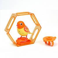 Интерактивная птичка DigiBirds - ЛУЧИК (с клеткой и свистком)