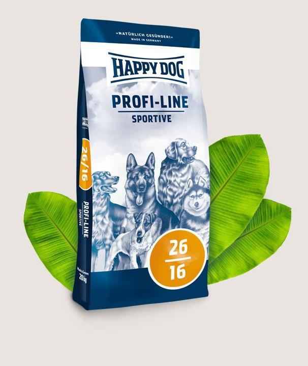 HAPPY DOG Profi-Line Sportive 26/16 20 кг Хэппи Дог сухой корм для спортивных собак, 2576