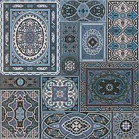 Плитка Атем для пола Atem Aladdin BL 600 х 600 (Аладин напольная голубая) для внутренних работ