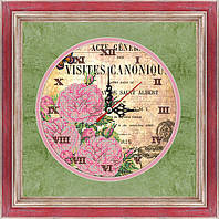 Схема для вышивки бисером Часы-Винтаж