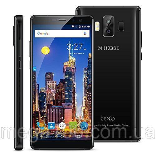 Смартфон M-Horse Pure 1 цвет черный (экран 5,7 дюймов; памяти 3/32, батарея емкость 4380 мАч!)