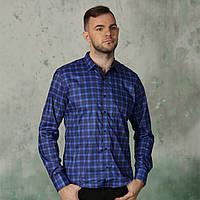 4b87d52c7cd Рубашка мужская синяя в Украине. Сравнить цены