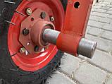 Адаптер до мотоблоку короткий (універс.маточина) БЕЗ коліс, фото 3