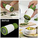Измельчитель для свежей зелени | Ручной блендер для трав Herb Grinder (Реплика), фото 6