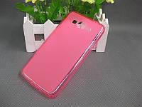 TPU чехол для Samsung Galaxy A3 A300 розовый, фото 1