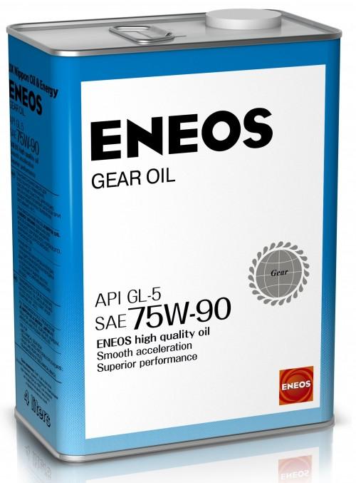 Трансмиссионное масло ENEOS GL-5 75W-90 4лит.