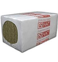 Базальтовая вата Изоват 30 пл.30 кг/м3 100х1000х600мм, в упаковке 3м2