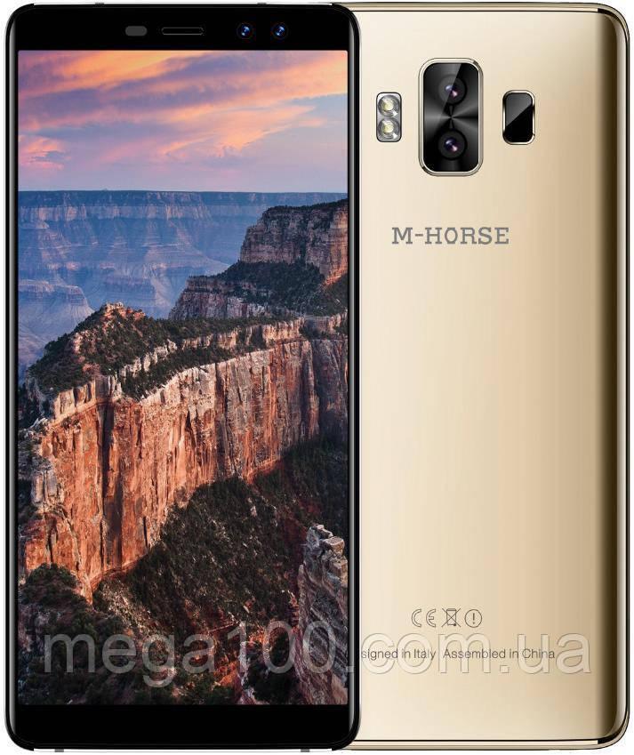 Смартфон M-Horse Pure 1 цвет золотой (экран 5,7 дюймов; памяти 3/32, батарея емкость 4380 мАч!)