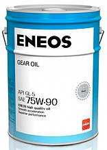 Трансмиссионное масло ENEOS GL-5 75W-90  20лит.