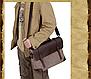 Мужская винтажная сумка , фото 7
