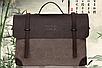 Мужская винтажная сумка , фото 2